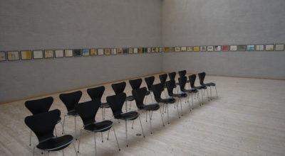 """Mange små billeder fra udstillingen """"Transformation"""" med Finn Nauer på Himmerlands Kunstmuseum"""