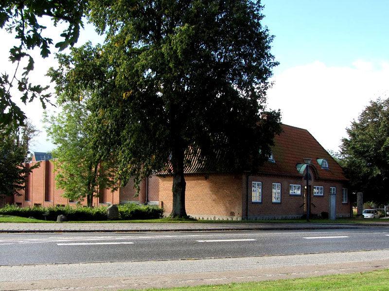 Indgangen til Himmerlands Kunstmuseum