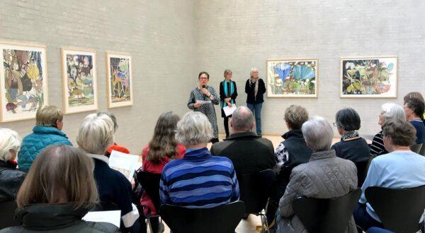 Gitte Petersen byder velkommen til fernisering på Fynske Kunsthåndværkere