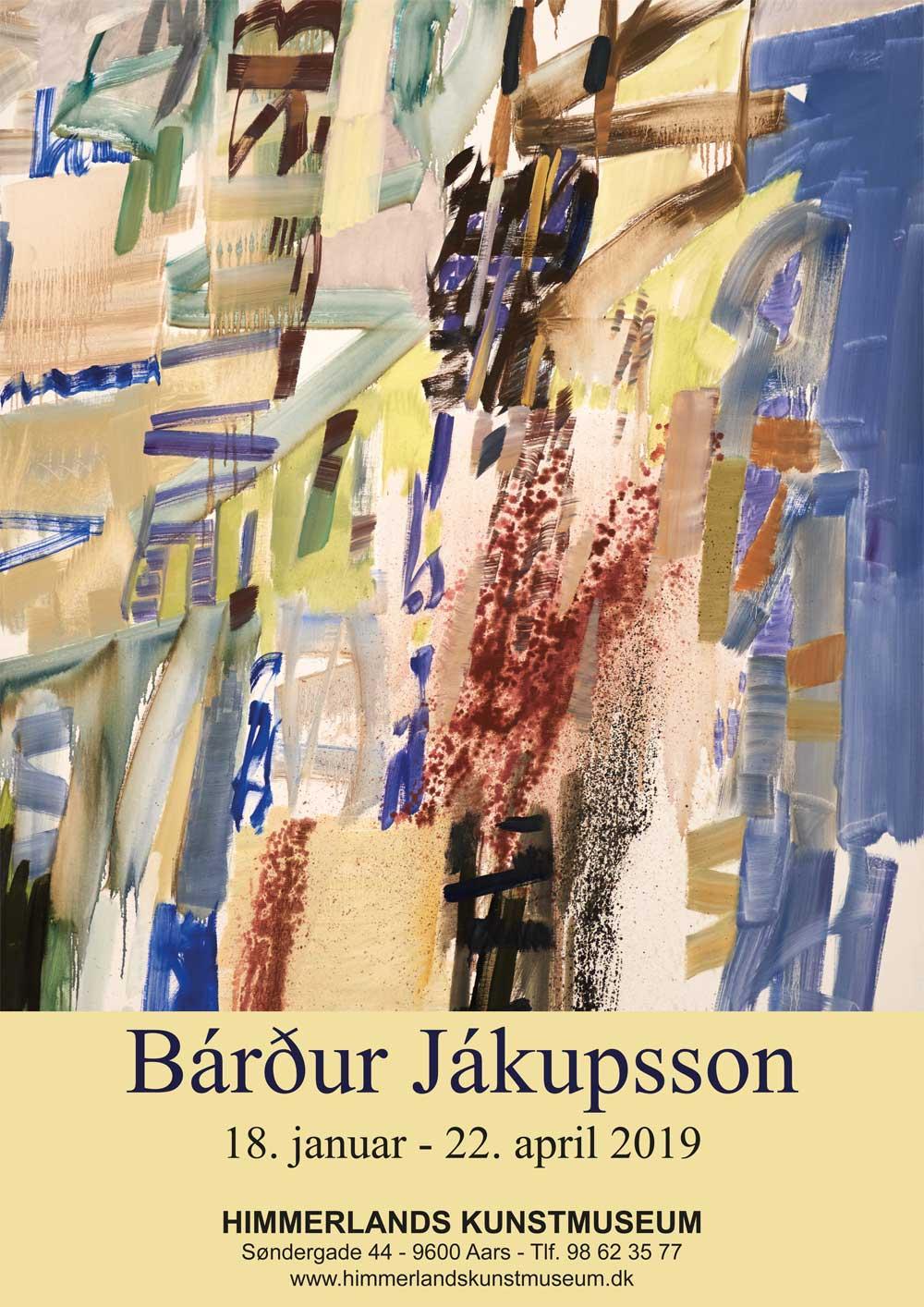 Plakat fra udstilling med Bardur Jakupsson