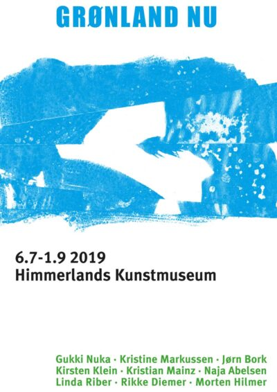 Plakat fra udstillingen Grønland NU