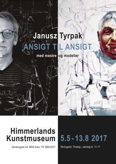 Plakat fra udstilling med Janusz Tyrpak