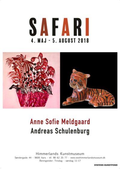 Plakat fra udstillingen Safari